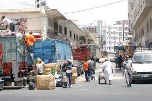 سوق درب عمر فى مدينة الدار البيضاء بالمغرب
