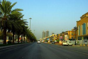 شارع التحلية في مدينة الرياض