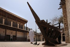 متحف بيت النابودة في الشارقة