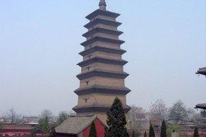 معبد الأوز البري في الصين