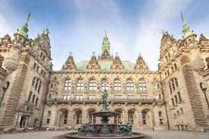 قاعة المدينة - هامبورغ