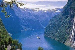 الطبيعة والجبال والثلوج في النرويج