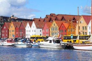 مدينة برجن في النرويج