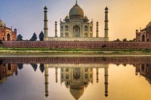 تاج محل درة العمارة الهندية