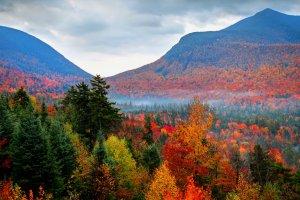 جمال الطبيعة في ولاية نيوهامبشير الأمريكية