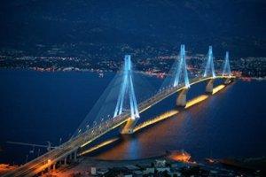 جسر ريون أنتيريون في اليونان