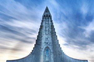 كنيسة هالغريمور في أيسلندا