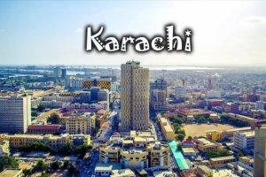 مدينة كراتشي الباكستانية