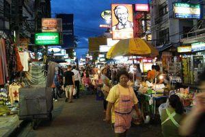 شارع خاو سان في بانكوك - تايلاند