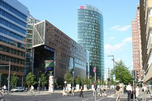 ساحة بوتسدام في برلين