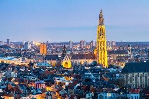 مدينة انتويرب فى بلجيكا