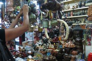 السوق الروسي في بنوم بنه - كمبوديا