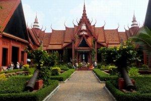 المتحف الوطني في بنوم بنه - كمبوديا