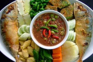 طعام شعبي في تايلاند