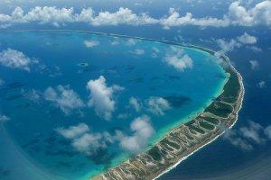 جزيرة فونافوتي المرجانية
