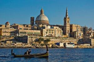 إطلالة مدينة فاليتا مالطا