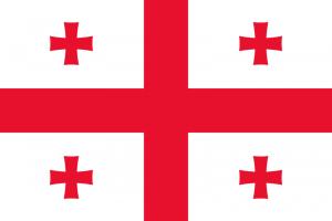 علم جورجيا الحالي