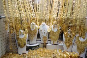 سوق الذهب في منطقة ديرة في دبي