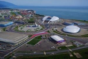 ملعب فيشت في سوتشي روسيا