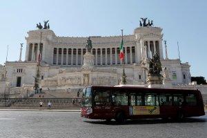 الحافلة في روما