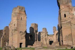 حمامات كراكالا الرومانية