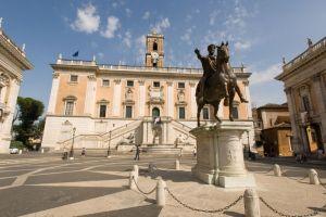 متاحف كابيتولين في روما - ايطاليا