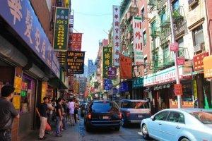 الحي الصيني في مدينة سان فرانسيسكو