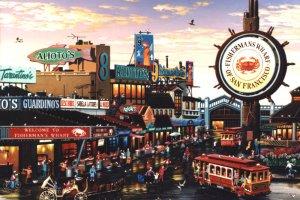مرسى الصيادين هي واحدة من مناطق الجذب السياحية الأكثر شعبية في سان فرانسيسكو