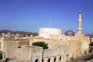 قلعة نزوى في مدينة نزوى