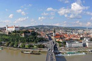 مدينة براتيسلافا في سلوفاكيا
