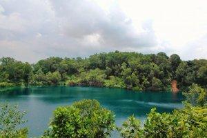 جزيرة بولاو اوبين في سنغافورة