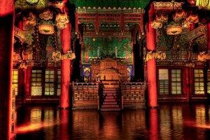 قصر تشانغدوك من الداخل