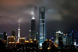 مركز مدينة شنغهاي المالي - الصين