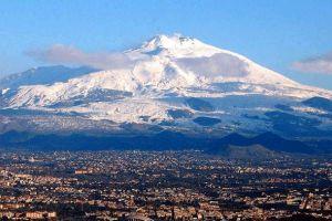 جبل اتنا في صقلية - إيطاليا