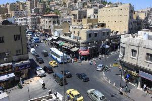 وسط البلد في عمان بالأردن