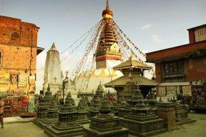 سويامبوناث ستوبا في كاتماندو - نيبال