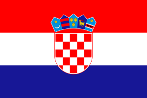 العلم الكرواتي
