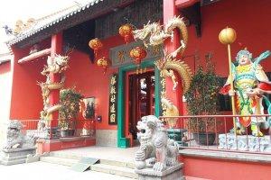 مدخل المعبد