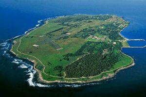 جزيرة روبن في كيب تاون في جنوب افريقيا