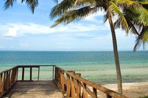 شاطئ بانتاي بيسيكان بايو في كيلانتان - ماليزيا