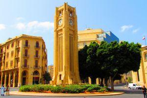 برج ساعة الحميدية في بيروت