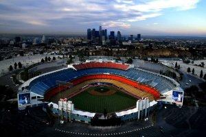 ملعب دودجر في لوس أنجلوس
