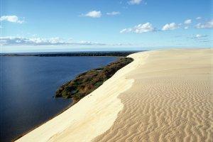 جزيرة كورونيان في ليتوانيا