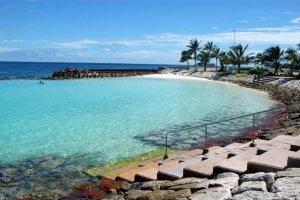 شاطئ ماليه الصناعي - جزر المالديف