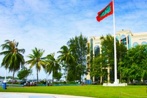 موليياج ومودو زياراث في ماليه - جزر المالديف