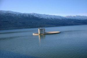 بحيرة القرعون في البقاع