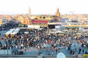 ساحة الفنا في مراكش