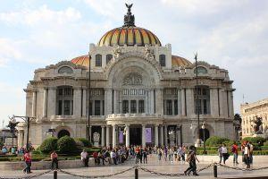 قصر الفنون الجميلة في مكسيكو سيتي