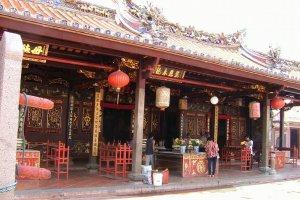 معبد تشنغ هون تينغفي مدينة ملاكا - ماليزيا