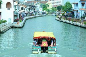 نهر مالاكا في ماليزيا
